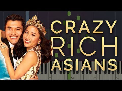 Can't Help Falling In Love | Crazy Rich Asians | Piano Tutorial/Cover