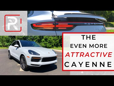 The 2020 Porsche Cayenne Coupe Is a Better Looking & Driving Cayenne