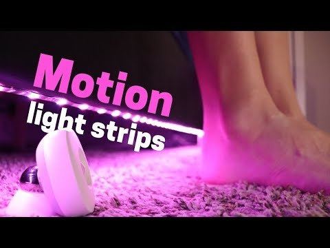 Motion Activated Light Strips: My Automated Lights Set Up