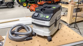 Festool CT 15 Dust Extractor Review