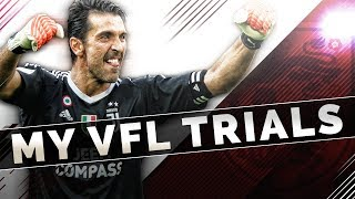 FIFA 19 Pro Clubs | MY VFL TRIALS - England Trials!