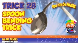 Spoon Bending Illusion Revealed - Visible Spoon Bend Tutorial