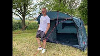 Hauszelt in 120 Sekunden aufbauen? Das Qeedo Quick Villa 4 Campingzelt im Test