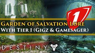 Destiny 2 Shadowkeep Lore - Garden of Salvation Lore Raid W/T1 Clan (Gigz, Gamesager, Riot & more!)