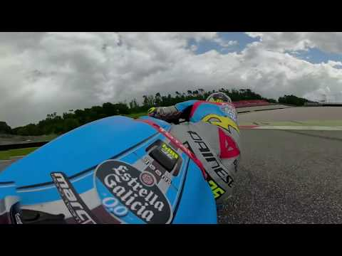 360 degree onboard with Joan Mir at Mugello