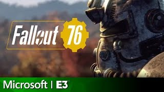 Watch Todd Howard introduce Fallout 76 at the Microsoft E3 2018 press conference!  Subscribe to GameSpot! http://youtube.com/GameSpot?sub_confi...  Visit all of our channels: Features & Reviews - http://www.youtube.com/GameSpot Video Game Trailers - http://www.youtube.com/GameSpotTrailers Movies, TV, & Comics - http://www.youtube.com/GameSpotUniverse Gameplay & Guides - http://www.youtube.com/GameSpotGameplay Mobile Gaming - http://www.youtube.com/GameSpotMobile  Like  - http://www.facebook.com/GameSpot Follow - http://www.twitter.com/GameSpot  http://www.gamespot.com
