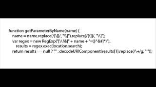 How can I get query string values in JavaScript