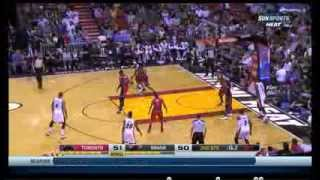 Lebron James full-highlights & top plays vs Toronto on Janury 5th 2014, 30 points, 5 assists