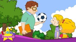 Hãy chơi bóng đá. Tôi thích bóng đá. (Đề xuất / Thể thao)