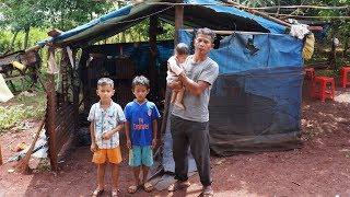 Xót thương hoàn cảnh Gà Trống nuôi 3 con nhỏ côi cút