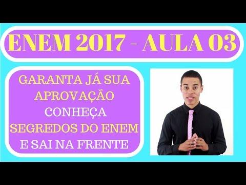 Segredos do Enem | Lucas Marques - AULA 3 COMPLETO