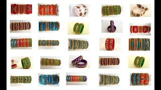 My Over all Silk Thread Bangles collection part -8