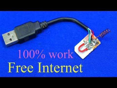 How to get free Internet  / FREE INTERNET on any SIM card everywhere you go 100% work