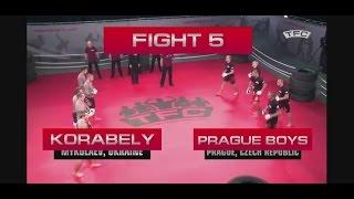 Бои без правил. Стенка на стенку, Украина vs Чехия
