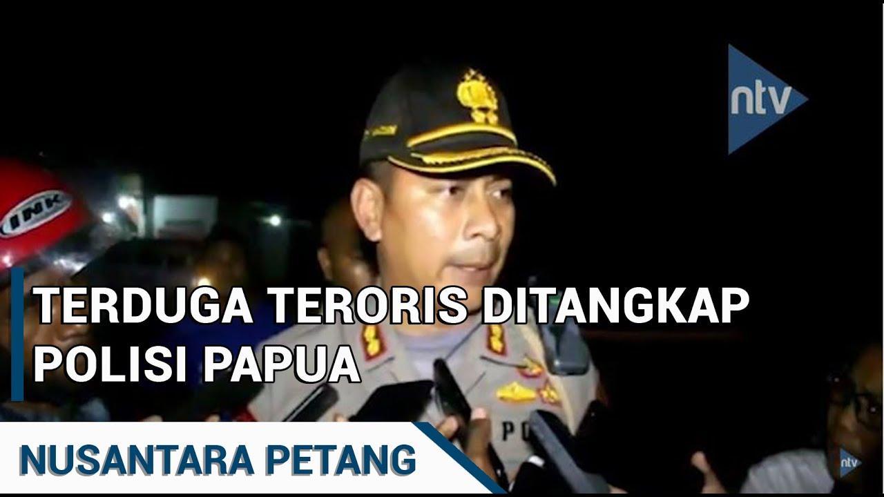 TERDUGA TERORIS DITANGKAP POLISI PAPUA