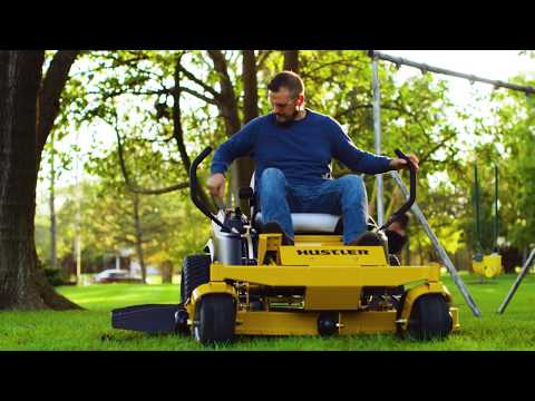 2021 Hustler Turf Equipment Dash 34 in. Briggs & Stratton 10.5 hp in Okeechobee, Florida - Video 1