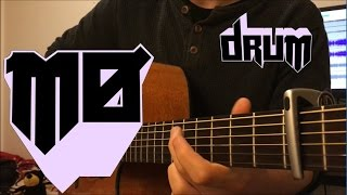 MØ - Drum - Fingerstyle Guitar Cover (Free Tabs)