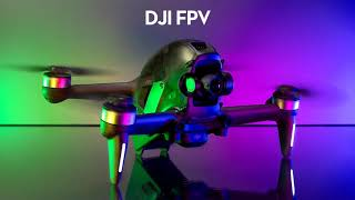 Dji FPV Combo - First Flight Test (Wind test)