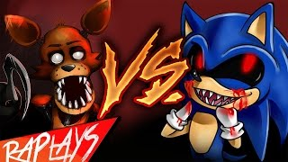 Foxy Vs Sonic.exe  Epic Battle  Kronno Zomber