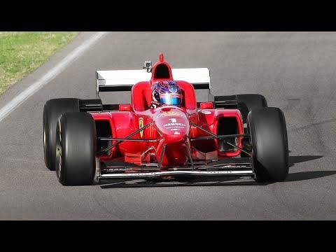 [3D Binaural Audio] Ferrari F1 Clienti & XX Programmes 2019 at Imola: FXX K Evo, F310/2, F2003-GA