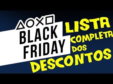 Black Friday SONY PSN LISTA COMPLETA descontos dos JOGOS