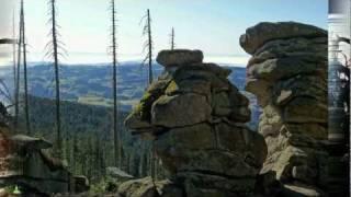 preview picture of video 'Panorama-Video vom Dreisessel - Bayern-Böhmen-Oberösterreich Alpen-Blick'