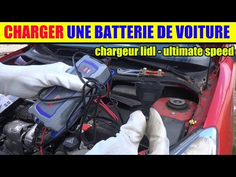 charger une batterie voiture chargeur lidl ultimate speed pour voiture et moto