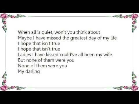 Kaiser Chiefs - When All Is Quiet Lyrics