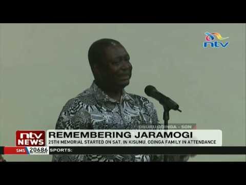 Remembering Jaramogi Oginga Odinga