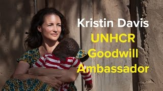 Kristin Davis announced as UNHCR Goodwill Ambassador