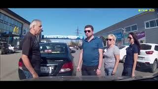 Аварии на дорогах, приколы на дороге 2018 6