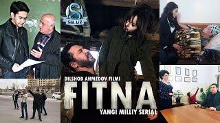 """""""Fitna"""" serialining suratga olish jarayonidan fotoreportaj!"""