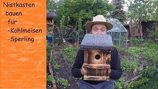 download video vogelhaus nistkasten bauen anleitung. Black Bedroom Furniture Sets. Home Design Ideas