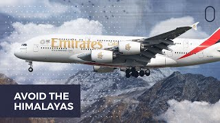 Why Do Airplanes Avoid Flying Over The Himalayas?