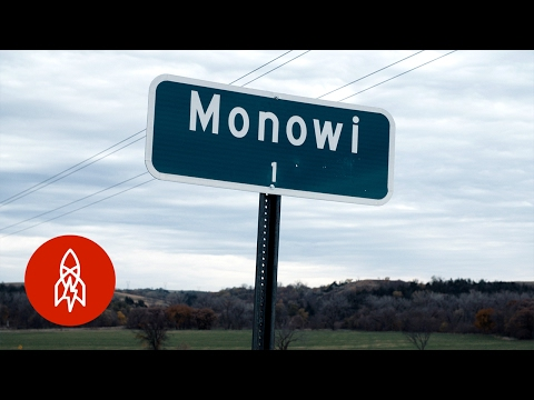 Video: A whole town of a population of 1 resident