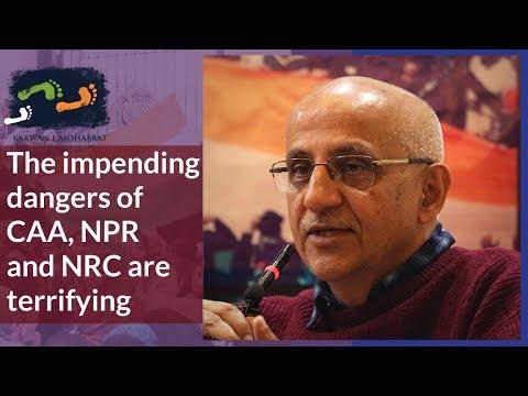 सीएए-एनपीआर-एनआरसी के खतरों को प्रभावित कर रहे हैं: हर्ष मंडर