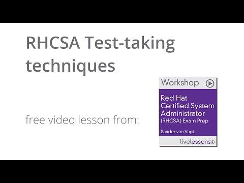 RHCSA Test-taking techniques - RHCSA 7 tutorial - YouTube