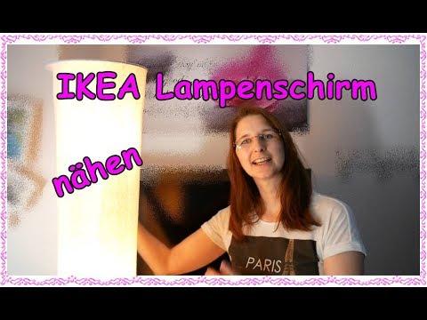 IKEA Lampenschirm selber nähen Mein Nähstübchen SoFie Haushalt Unperfekt Perfekt
