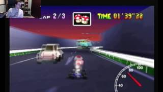 "SgtRaven - Mario Kart 64 Toad's Turnpike 3 Lap PAL 3'02""57 (NTSC: 2'31""84)"