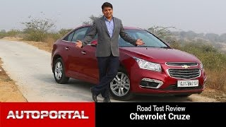 Exclusive 2016 Chevrolet Cruze Test Drive Review - Auto Portal