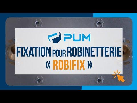 Fixation pour robinetterie ROBIFIX