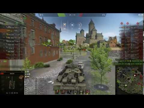 world of tanks 2019 Небельбург, Генеральное сражение, бой на  ИС 7