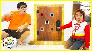 Ryan and the Secret Door in the house Story