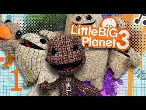 Little Big Planet 3 Прохождение на русском Часть 1 ПРОЛОГ