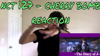 Nct 127 Cherry Bomb M V Reaction Mark And The Boys Lol