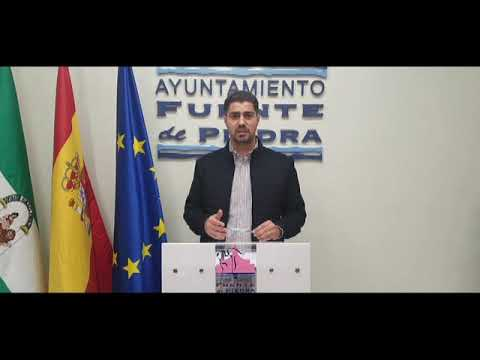 Comunicado del Alcalde de Fuente de Piedra Plan Municipal de Ayudas COVID-19