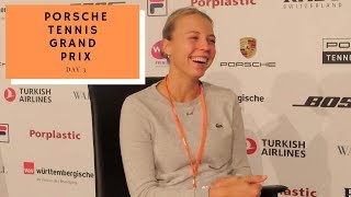 GoT Discussion, Estonia And More! - Anett Kontaveit Interview: Day 3 Porsche Tennis Grand Prix