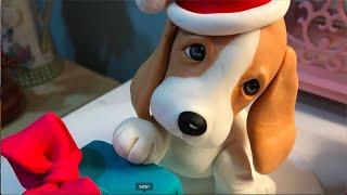Beagle Pup Tutorial. Perrito Beagle  Navideño | Patricia Santoro