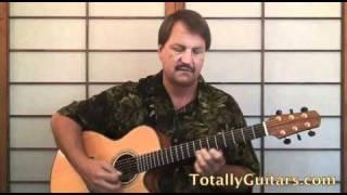 Margaritaville Free Guitar Lesson, Jimmy Buffett