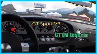GT Sport VR - Ford GT LM Spec ll test car - Circuit de sainte-croix
